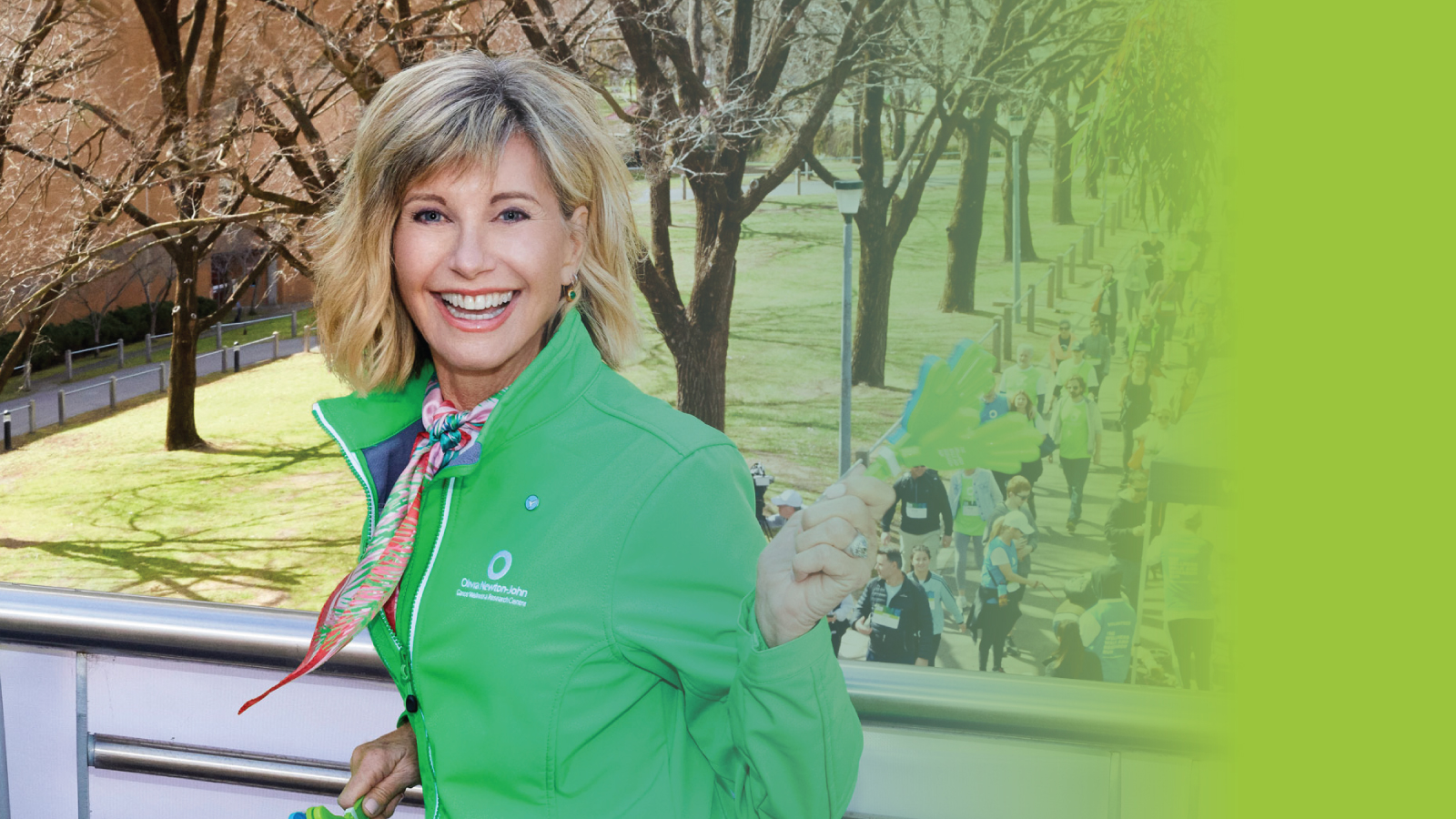 Olivia Newton-John at the 2018 Wellness Walk and Research Run