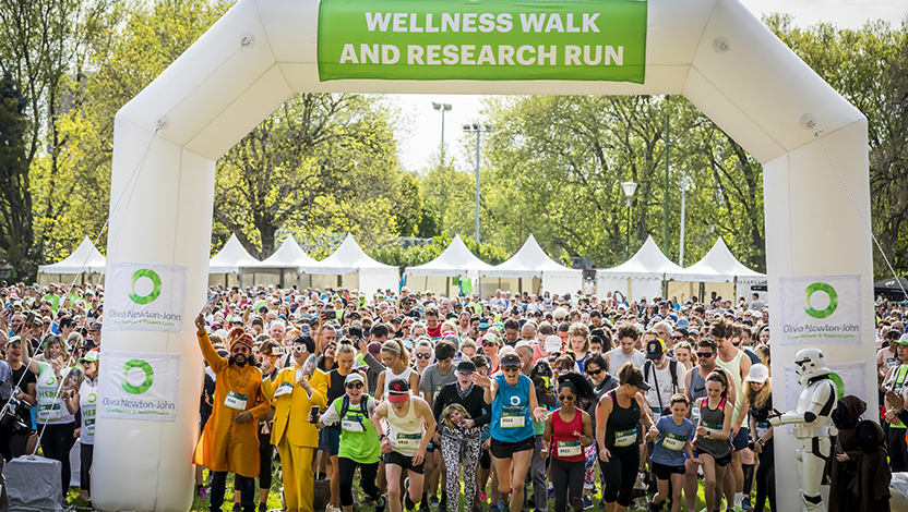 Wellness Walk and Research Run