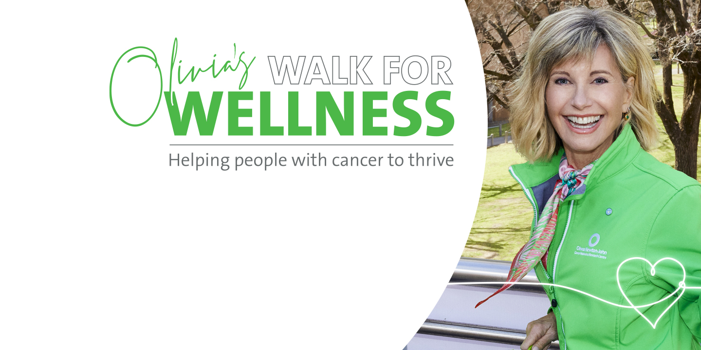 Olivia's Walk for Wellness: Helping people with cancer to thrive