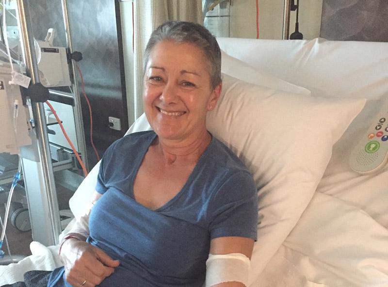Moya in hospital bed happy 800x592px