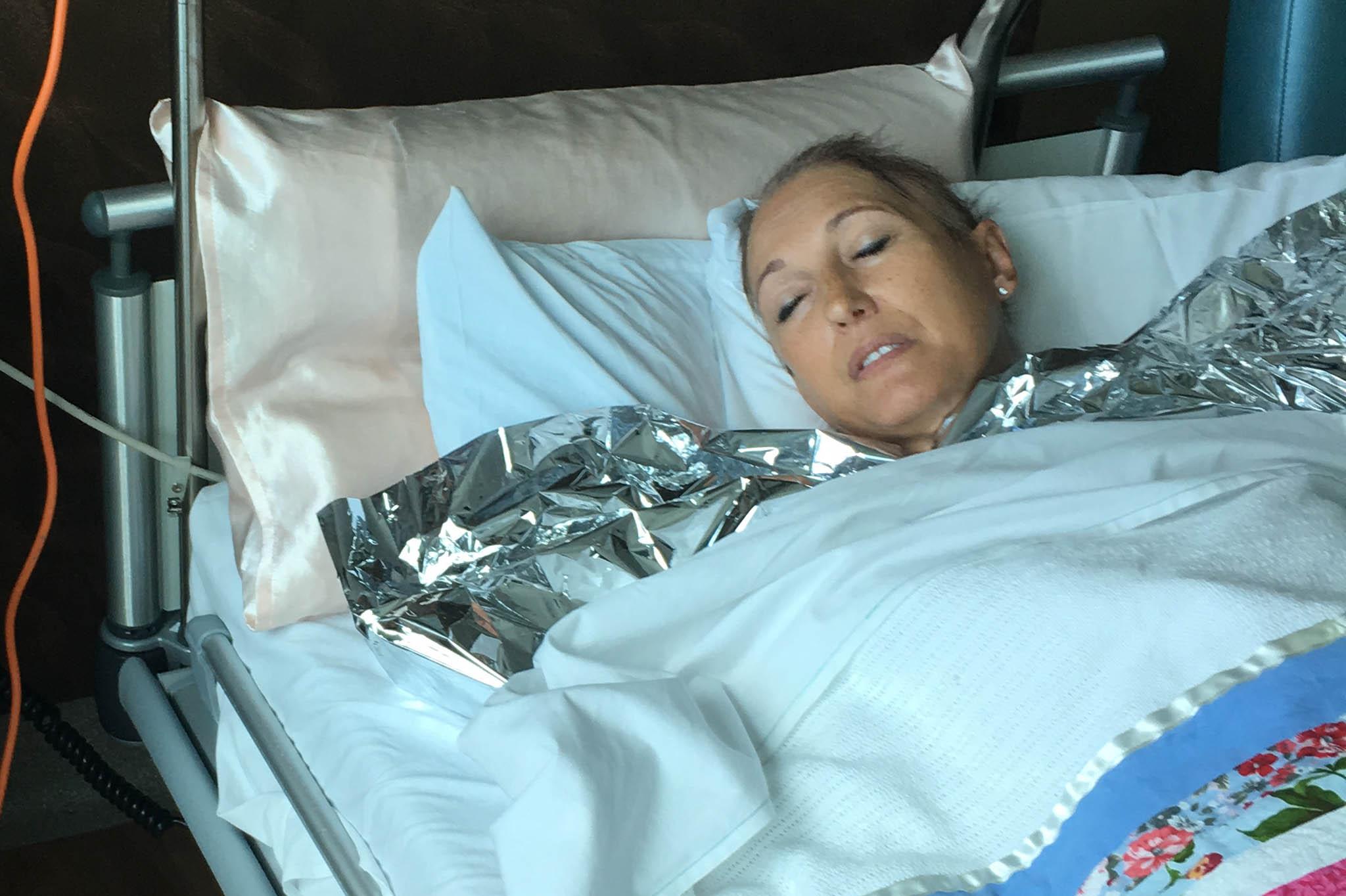 suzi juracic after allograft transplant photo grid